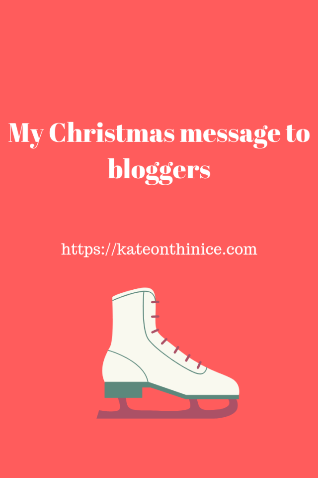 My Christmas Message To Bloggers
