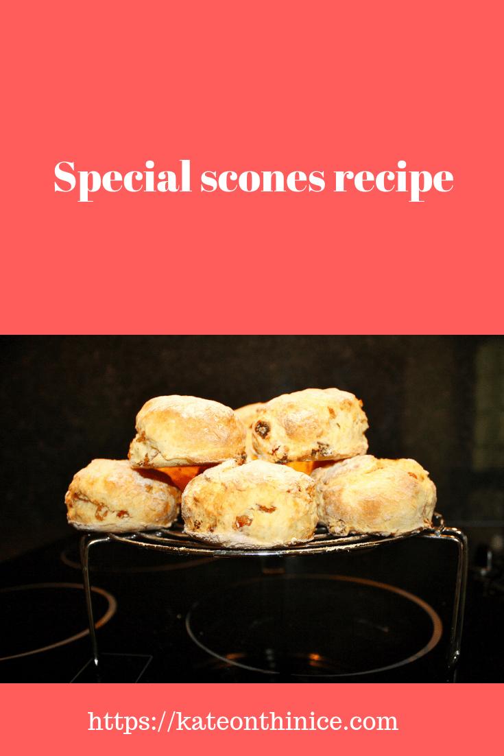 Special Scones Recipe