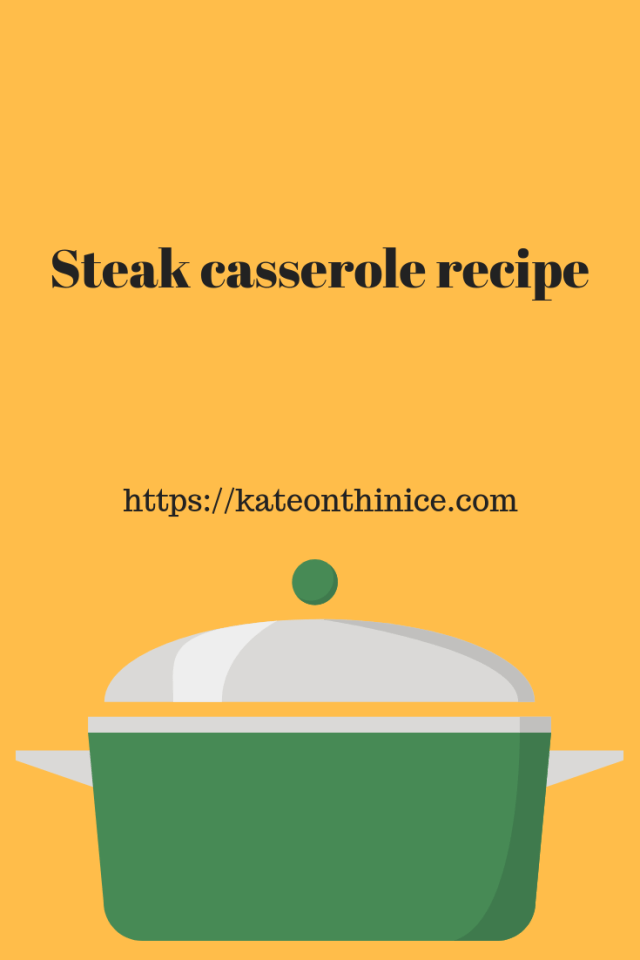 Steak Casserole Recipe