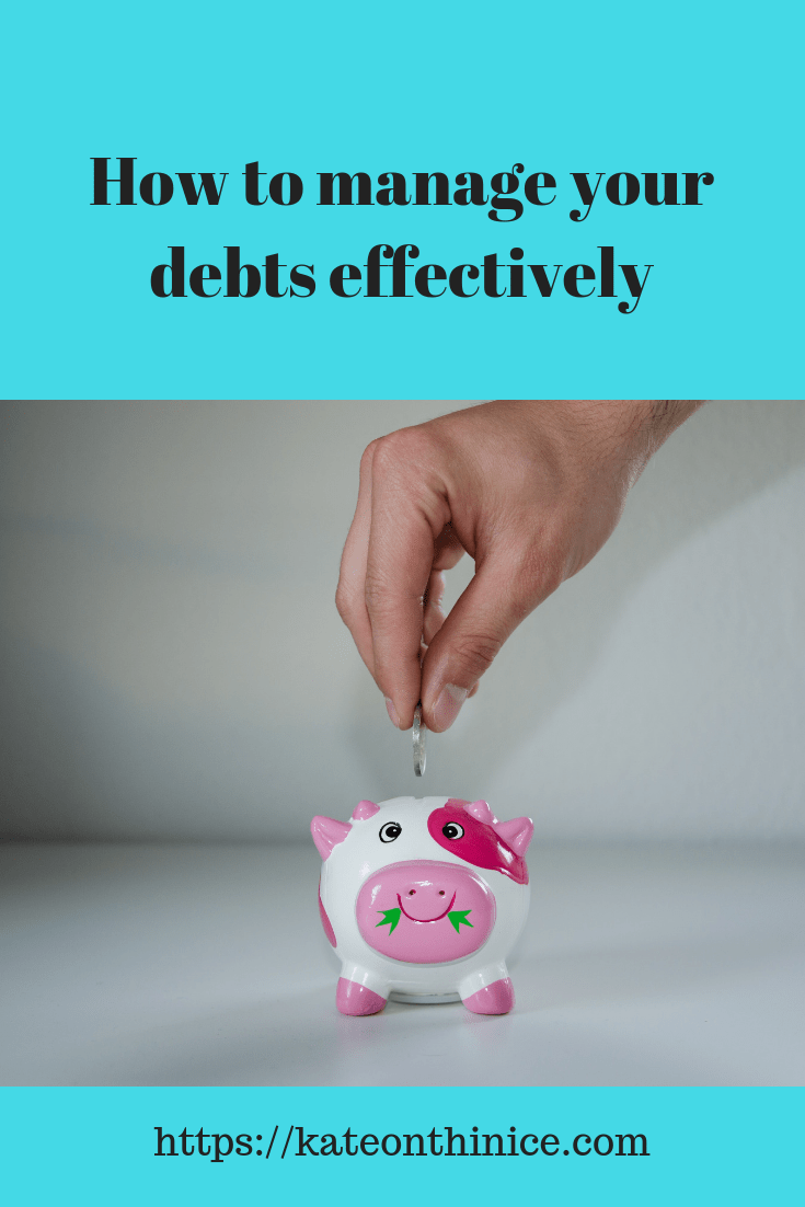 How To Manage Your Debts Effectively