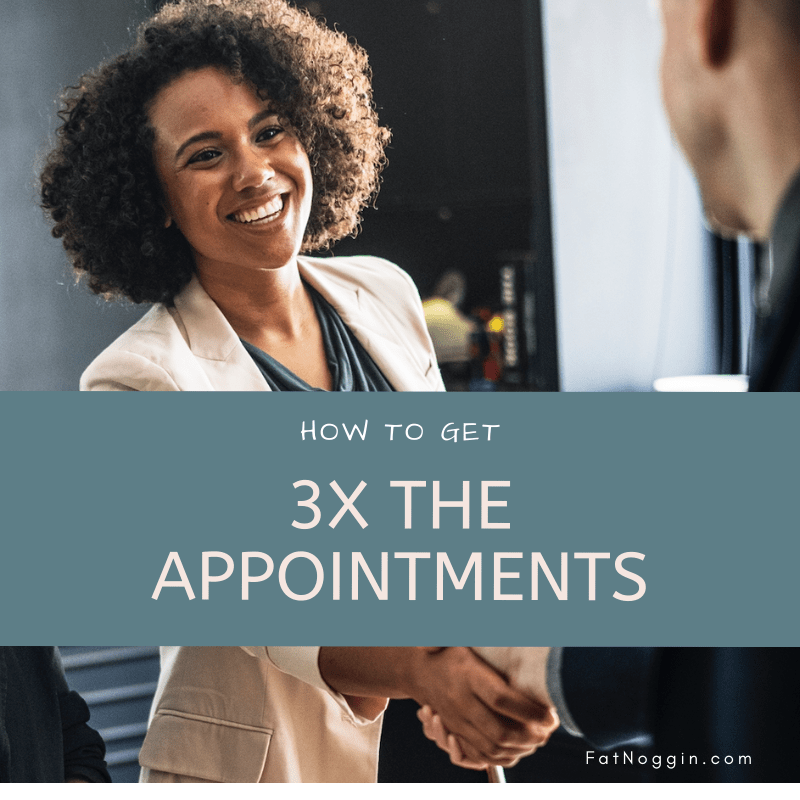 how to get more appointments