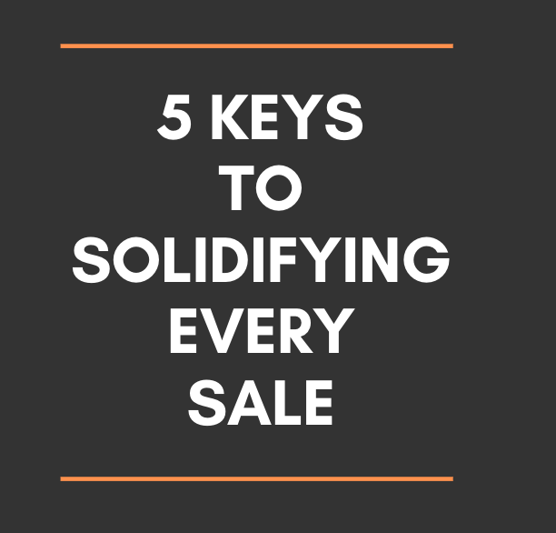 sales-advice-solidify-every-sale