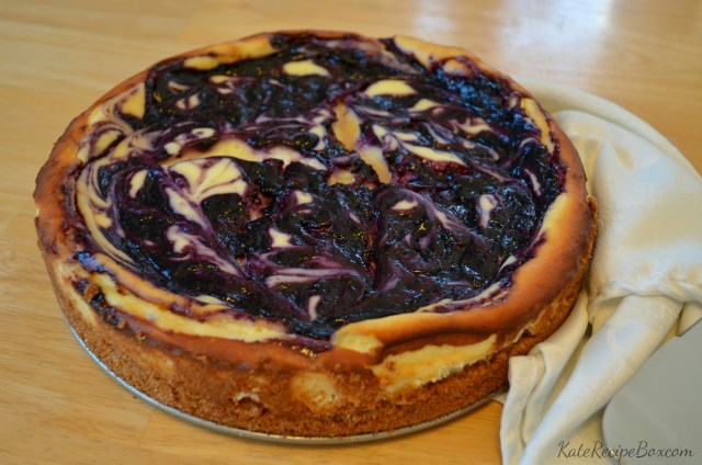 Blueberry Lemongrass Cheesecake 2