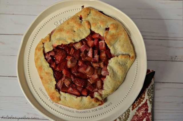 Strawberry Rhubarb Galette 3