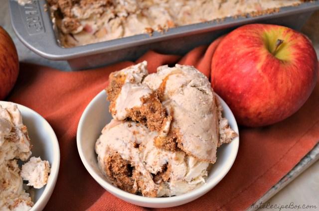 Caramel Apple Pie Ice Cream 3