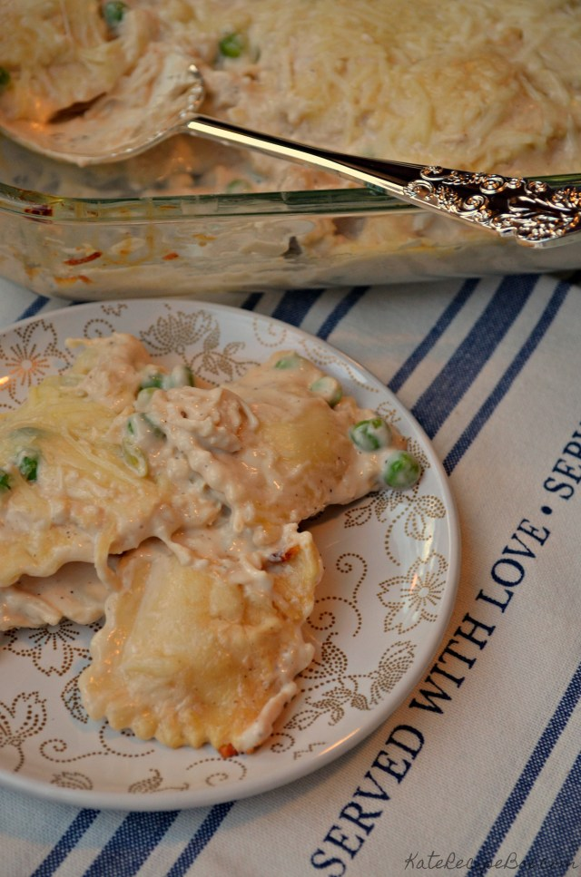 Chicken Alfredo Ravioli 1