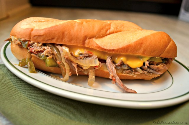 Slow Cooker Cheesesteaks 1