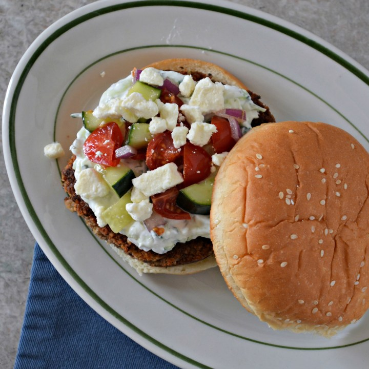 Greek Veggie Burgers