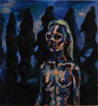 Thompson Street Gothic, 2011, oil on canvas