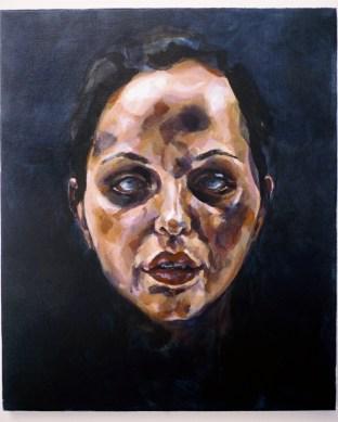 Ghost Head, 2008, Acrylic on linen