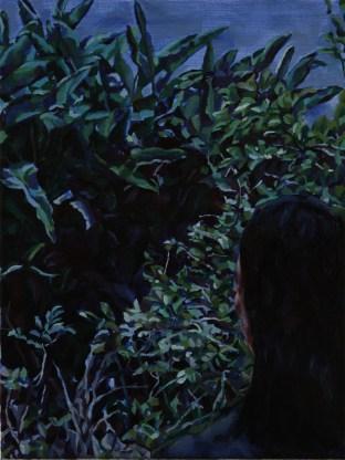 Monster Tree 2, 2011, Oli on linen