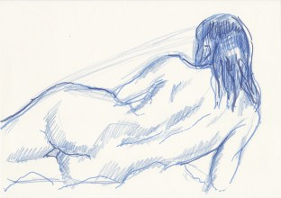 Life drawing, Rosie