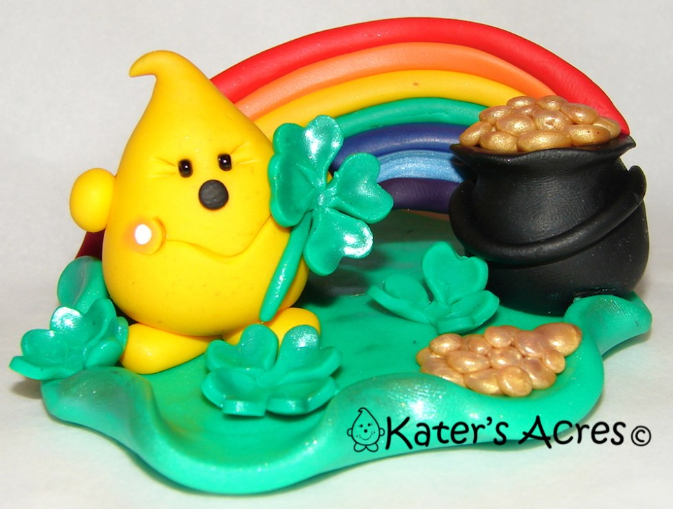 Pot of Gold Parker StoryBook Scene - Limited Edition Figurine by KatersAcres
