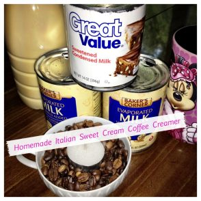 Homemade Italian Sweet Creme Coffee Creamer by KatersAcres