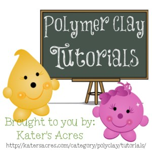 PolyClay Tutorials from KatersAcres
