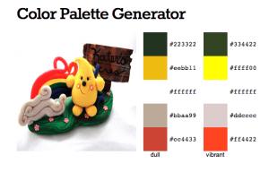 KatersAcres Parker StoryBook Scene Web Generated Color Palette