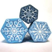 Intricate Polymer Clay Snowflake Canes by Meg Newberg on KatersAcres Blog