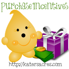 Build Your Brand - Purchase Incentives on https://katersacres.com