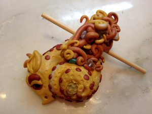 Fancify Your Dragon - Free Dragon Tutorial in Christi Friesen Style on KatersAcres Blog https://katersacres.com