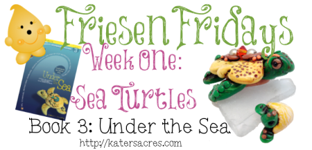 Make Your Own Christi Friesen Style Polymer Clay Sea Turtle Tutorial on KatersAcres Blog