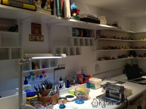 Kater's Acres Polymer Clay Studio - Workstation
