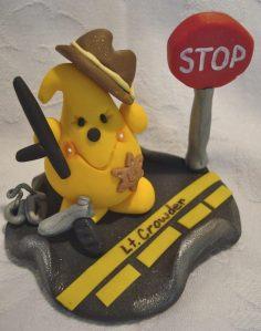 Parker Sheriff Cake Topper