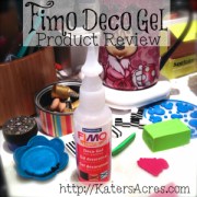 Fimo Deco Gel Polymer Clay Product Review on KatersAcres Polymer Clay Blog