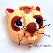 Christi Friesen Inspired Cat Bead by KatersAcres