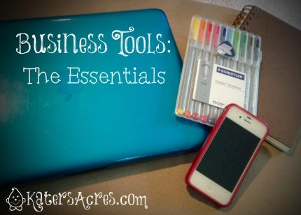 Business Tools Essentials Collection by KatersAcres