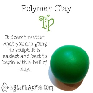 Polymer Clay Sculpting Tip by Katers Acres