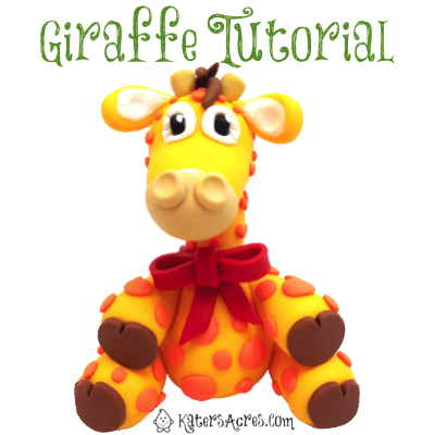 Polymer Clay Giraffe Tutorial by KatersAcres