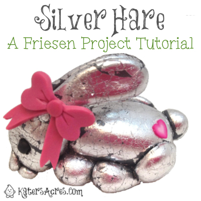 Silver Hare Tutorial by KatersAcres for the Friesen Project of 2013