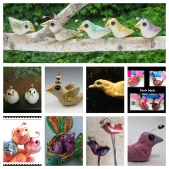 Friesen Project Blob Birds   Artists Grassel, Winters, Friesen, Vyselaar, Wareing, Oskin, Dienstber, Wright, Cederquist