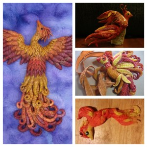 Fiery Phoenix | Artists Laurie Grassel, Shannon Winters, Patty Schneider, & Melody Crisman