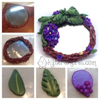 GrapeVine Mirror Tutorial by KatersAcres for the Friesen Project
