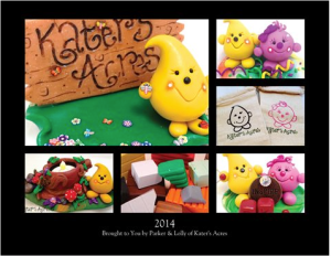 2014 Calendar - Brought to You by Parker & Lolly from KatersAcres