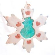 Holo Effects Snowman Ornament by KatersAcres