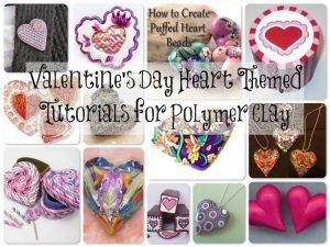 Valentine Heart Tutorials for Polymer Clay on KatersAcres Blog
