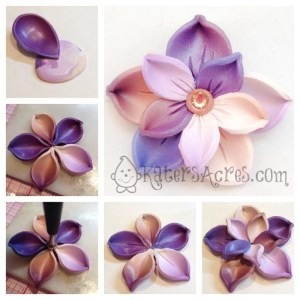 Spring Flower Pin Tutorial - Step 2 | Get full steps to this tutorial by clicking here