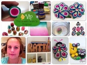 WIP Wednesday in Kater's Acres Polymer Clay Studio: Bug Addictions