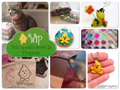 WIP Wednesday: Getting All Caught Up in KatersAcres Polymer Clay Studio