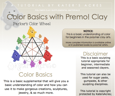 Polymer Clay Color Theory for Beginners by KatersAcres