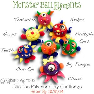 Monster Ball Challenge Elements | Join the Monster Ball Challenge | CLICK to get information & submit your entry for a chance to win one of TWO prizes.