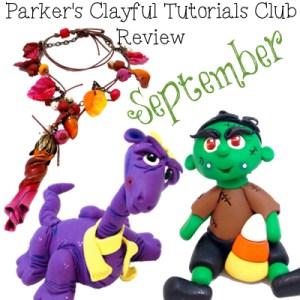 September 2014 Parker's Clayful Tutorials Club Review