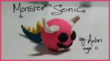 Monster Sonic by Aubri Anderson