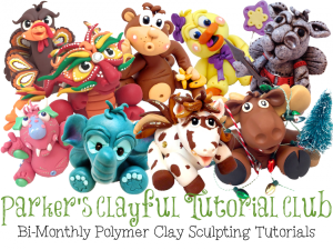 Parker's Clayful Tutorials Club | Whimsical Sculptures YOU Can Create!