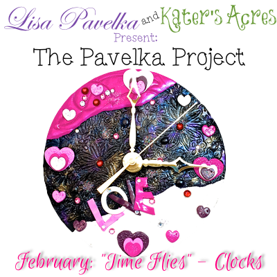 February Project Time Flies Polymer Clay Clock Tutorial