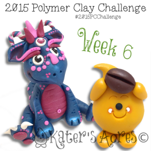 2015 Polymer Clay Challenge - Week 6 by KatersAcres   Meet Indigo & Coffee Bean Parker