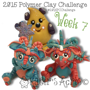 2015 Polymer Clay Challenge - Week 7 by KatersAcres | FREE International challenge for polymer clay lovers #2015PCChallenge
