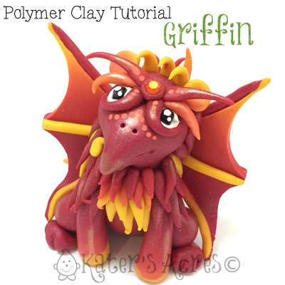 Griffin Polymer Clay Tutorial by KatersAcres